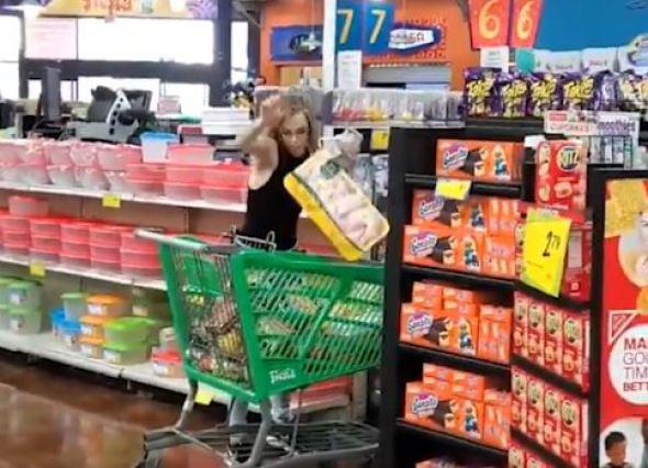 'Walmart meltdown Karen'