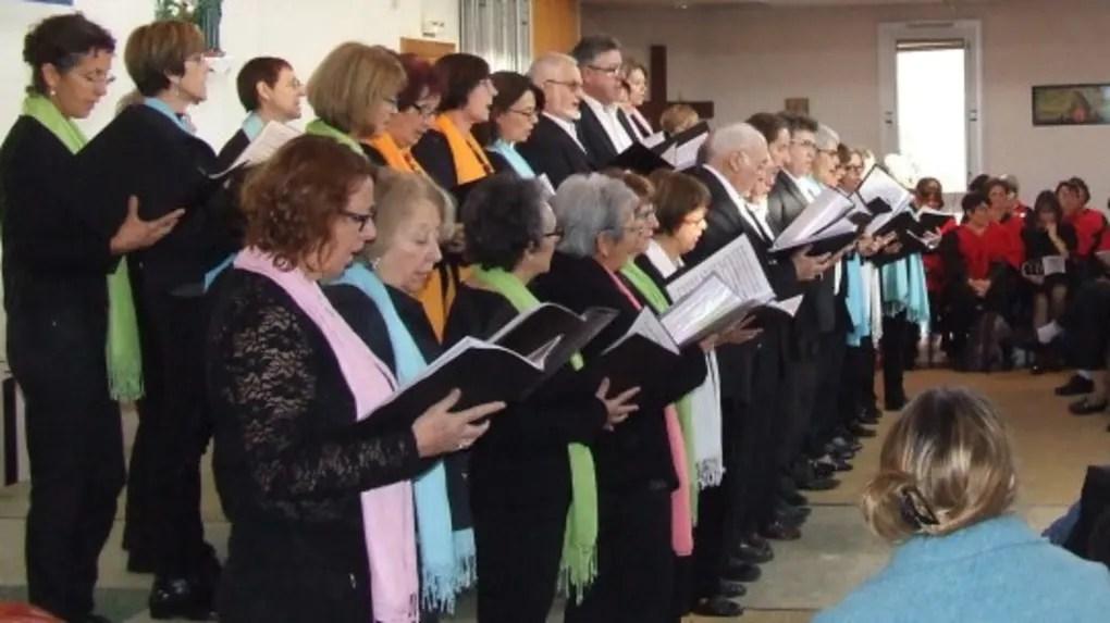 Les trois chorales et l'ensemble Voice For gospel ont rivalisé de talent.