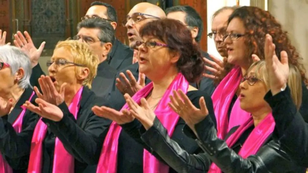 Les choristes de Voice for Gospel