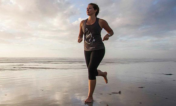 Claire McFarlane will run the beaches of 184 countries over three years to give a voice to women who have been raped, remove the taboo around rape and raise funds for healing programs fir every single country in which she runs.