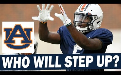 Who will step up at WR for Auburn in 2021?