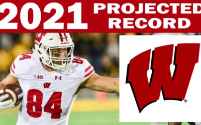 Wisconsin 2021 Record Projection from SG1 Sports