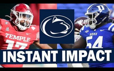 Tangelo and Ebiketie are Giving Penn State a Big Boost on the D-Line