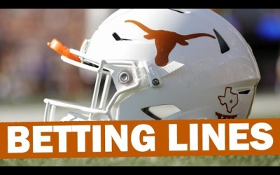 Early Texas Betting Lines