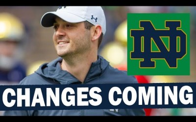 Notre Dame is Finally Making Changes to Their Offense