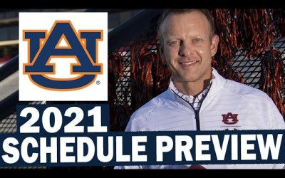Auburn Tigers 2021 Football Schedule Preview