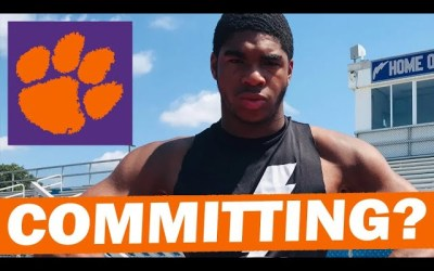 Jihaad Campbell Commits to Clemson Sunday?