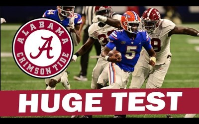 Florida Will Be a Huge Test for Alabama