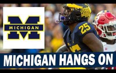 Michigan Escapes With Win Over Rutgers – Post Game Reaction