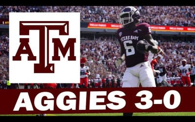 Texas A&M Takes Care of New Mexico – Post Game Reaction