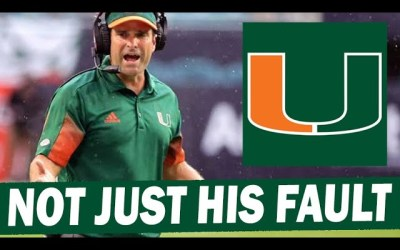Don't Put All the Blame on Manny Diaz for Miami's Struggles
