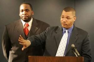 Former Mayor Kwame Kilpatrick and CFO Sean Werdlow.