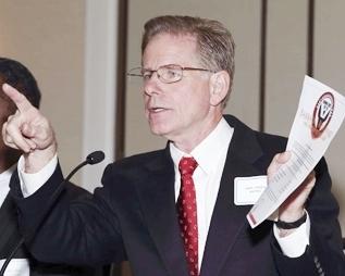 Judge Steven Rhodes at forum favoring EM's and Chapter 9 Oct. 10, 2012.