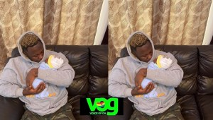 Medikal And Fella Makafui Welcomes Their First Child (Photos)