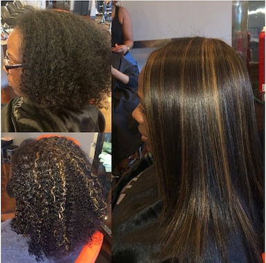 Silk Press Transformation Before And After Voice Of Hair