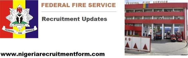 federal fire service recruitment 2019