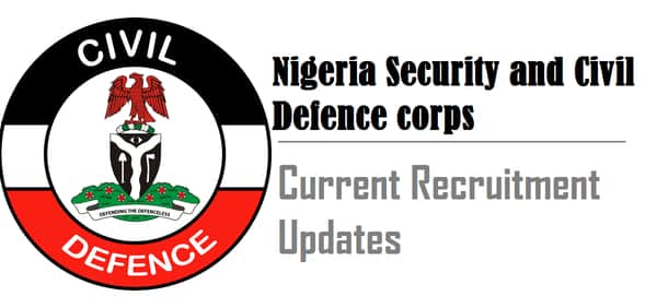 nscdc recruitment updates