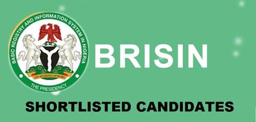 brisin shortlisted candidates