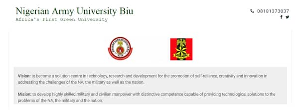 nigeria army university biu