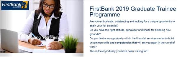www.firstbankrecruitment.com