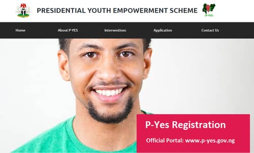 P-yes registration portal