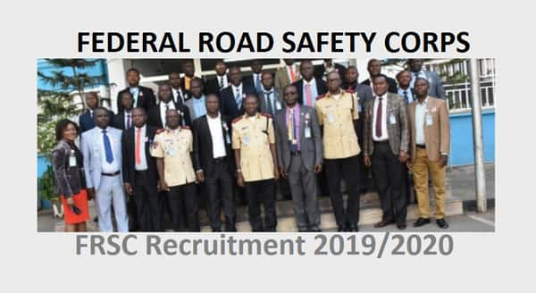 frsc recruitment 2019