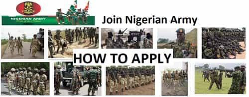 nigerian army recruitment portal