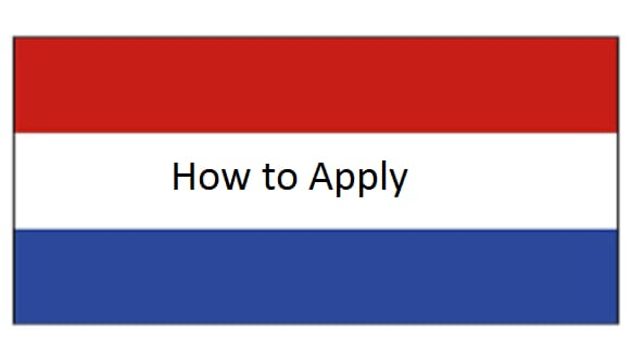 how to apply holland visa