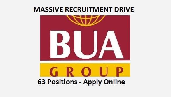 bua group nigeria recruitment