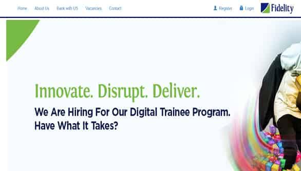 www.fidelitybank.ng portal