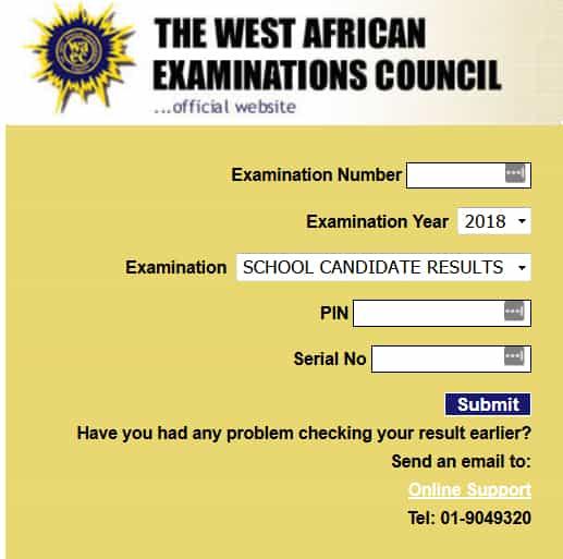 www.waecdirect.org waec result