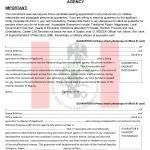 NDLEA Guarantor's Form