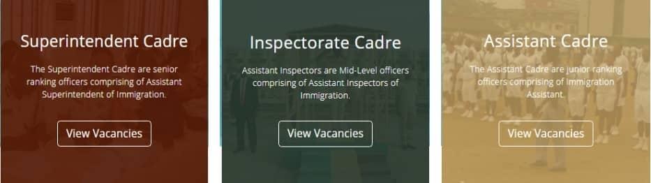 www.immigrationrecruitment.org.ng portal