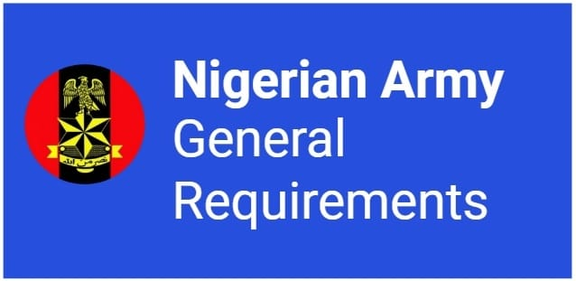 army general requirements