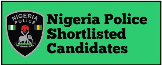 police recruitment shortlist