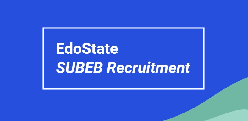 edostate subeb recruitment