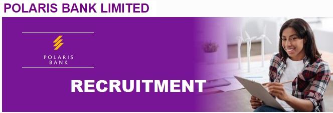 Polaris bank recruitment portal