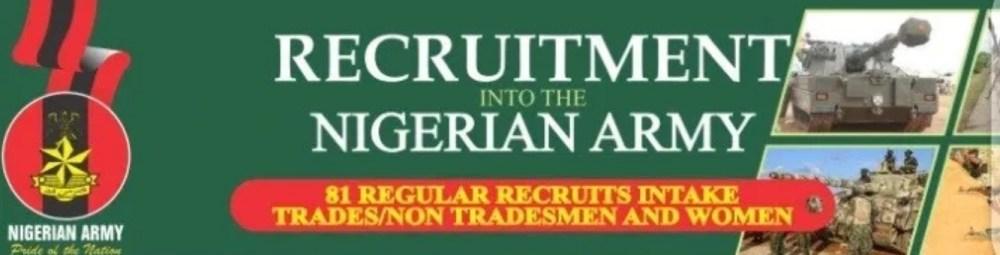 federal army recruitment