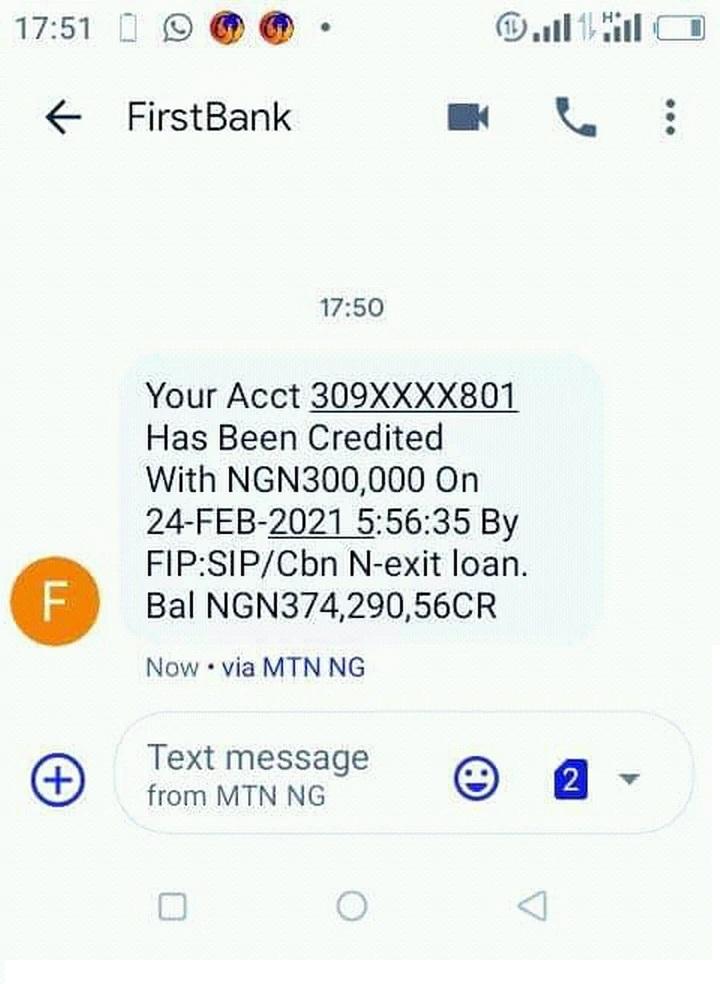 Disregard This Fake Information Concerning NEXIT loan » Voice of Nigeria