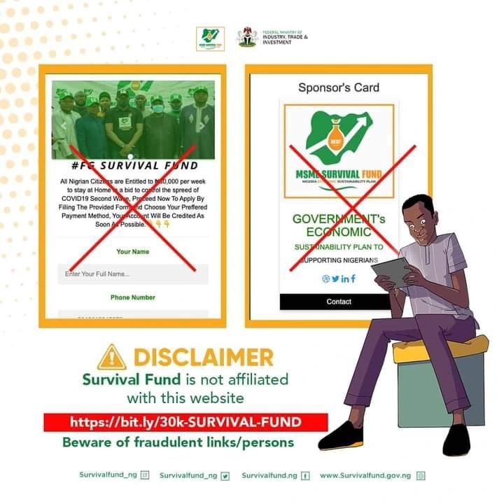 survival fund fraud
