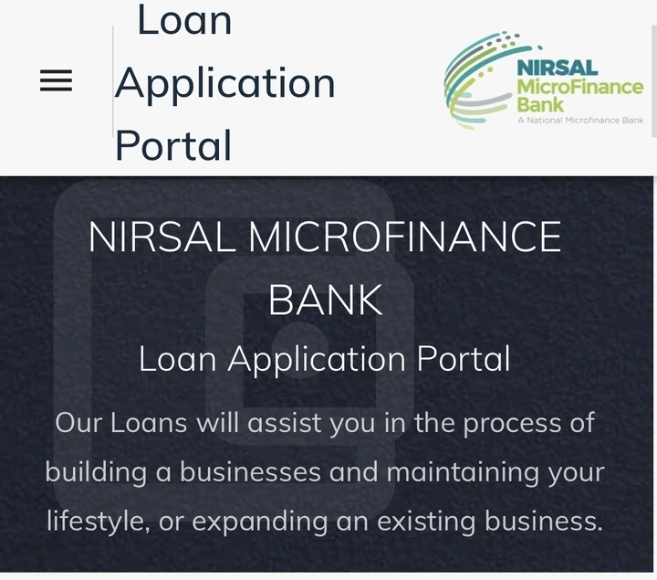 nirsal loan link