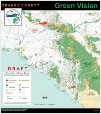 Protected lands are documented on the Friends of Harbors, Beaches and Parks Green Vision Map.
