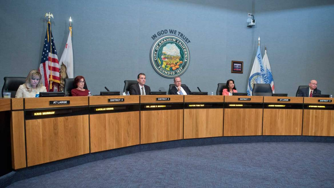 Anaheim City Council Passes County S Toughest Restrictions On Lobbying Voice Of Oc