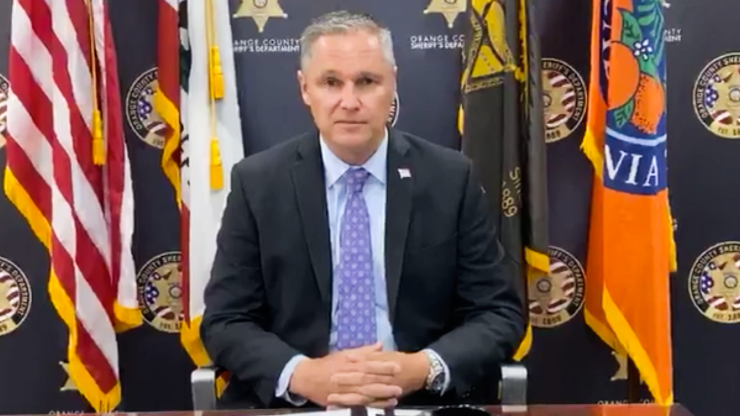 Sheriff Barnes Has Stopped Taking Questions at His News Briefings. Here Are the Questions He Wouldn't Answer.
