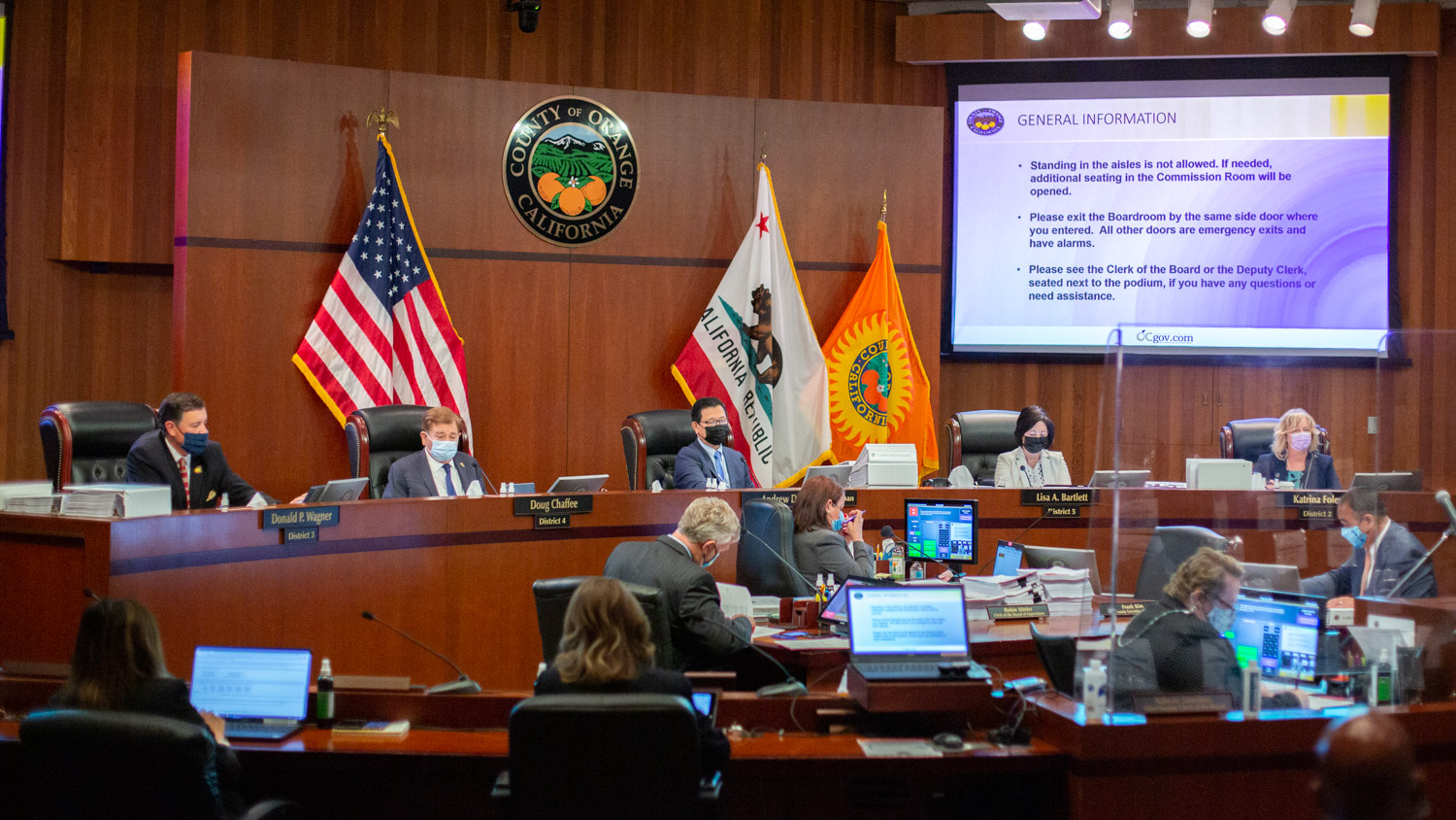 $8 Billion in OC Taxpayer Spending is Finalized with No Public Remarks from Supervisors