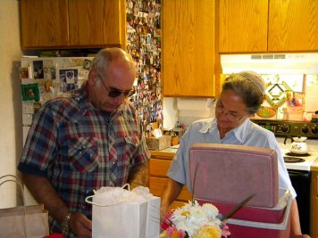 Arlen Kraybills...Josh and Joe spent onenight in their home