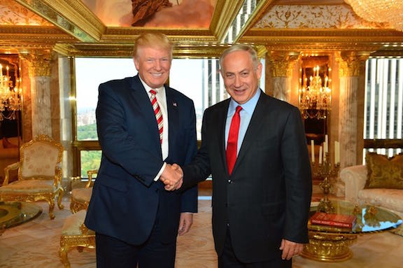Donald Trump sets forth his Israel policy
