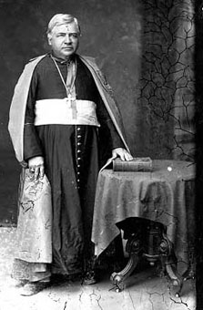 The Most Rev. John Baptiste Salpointe, first Bishop of Tucson.