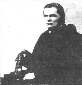 Father Pedro Maria Badilla, the first pastor of St. John's Catholic Church, arrived in 1880 and served as pastor until his death in 1901. Father Badilla is buried beside the church and in front of the rectory in the area where the original church stood. His grave is marked to memorialize this true pioneer of the Arizona Territory. Father Badilla was a native of Costa Rica and was sent by Bishop John Baptist Salpointe to establish St. John the Baptist parish in 1880. He also ministered to the people in Springerville and Concho during his years there.