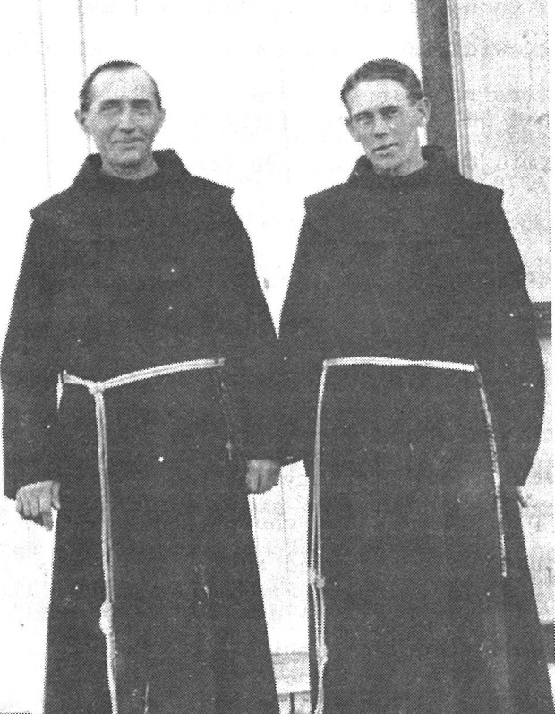 Fr. Albert Daeger and Fr. Fintan after 1910.